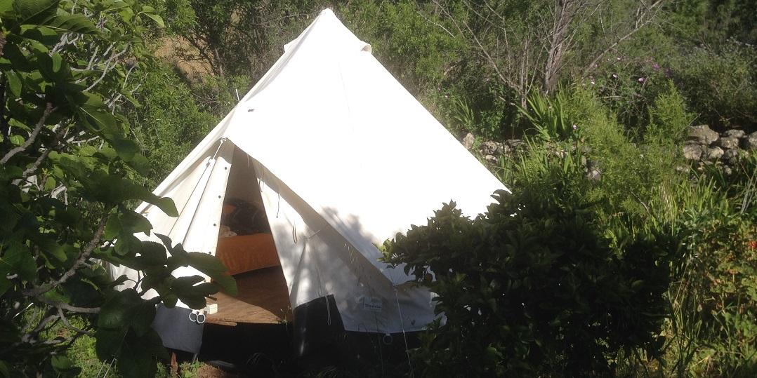 My lodging on Finca Tierra